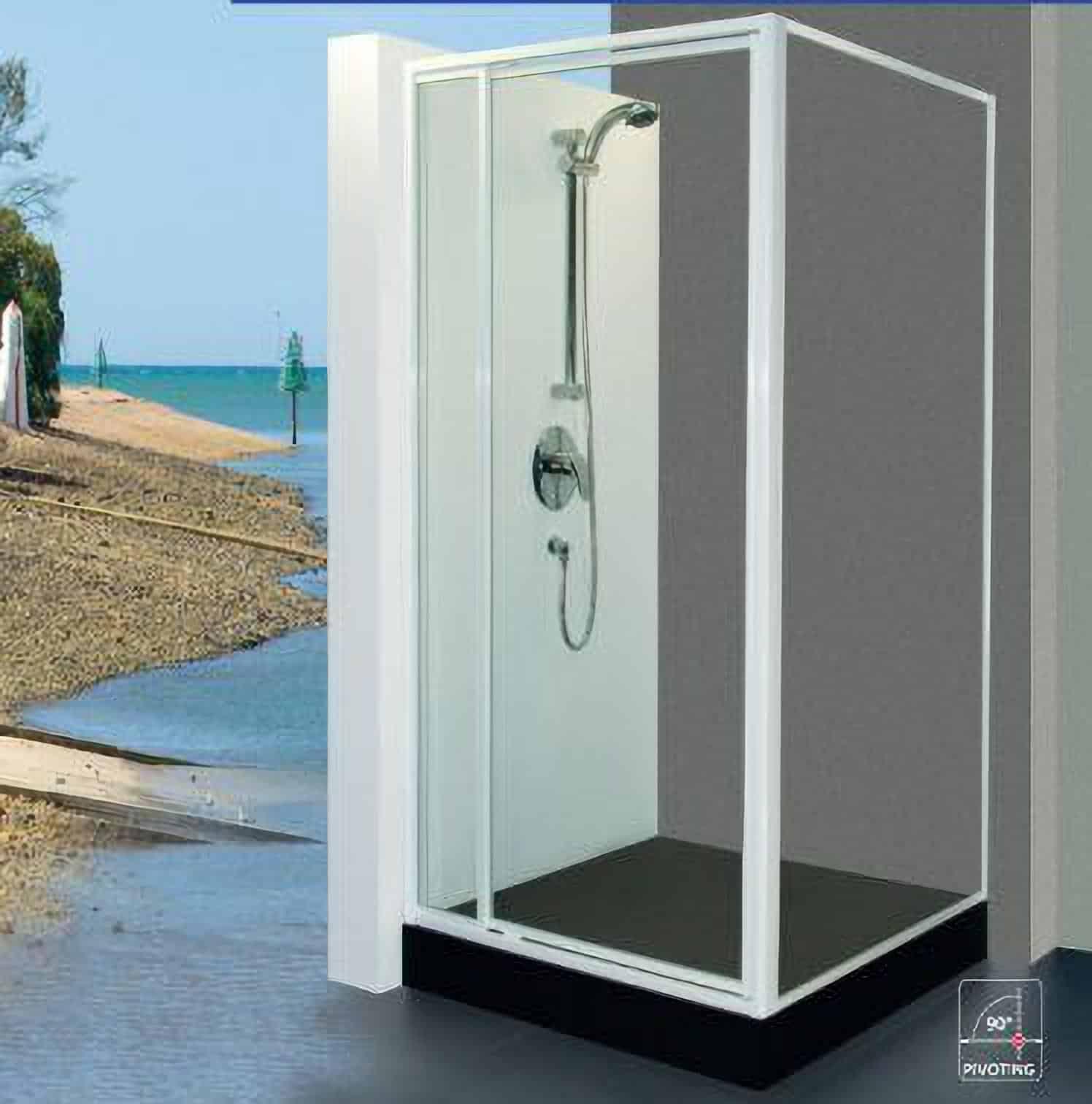 Fully Framed Pivot Shower Doors