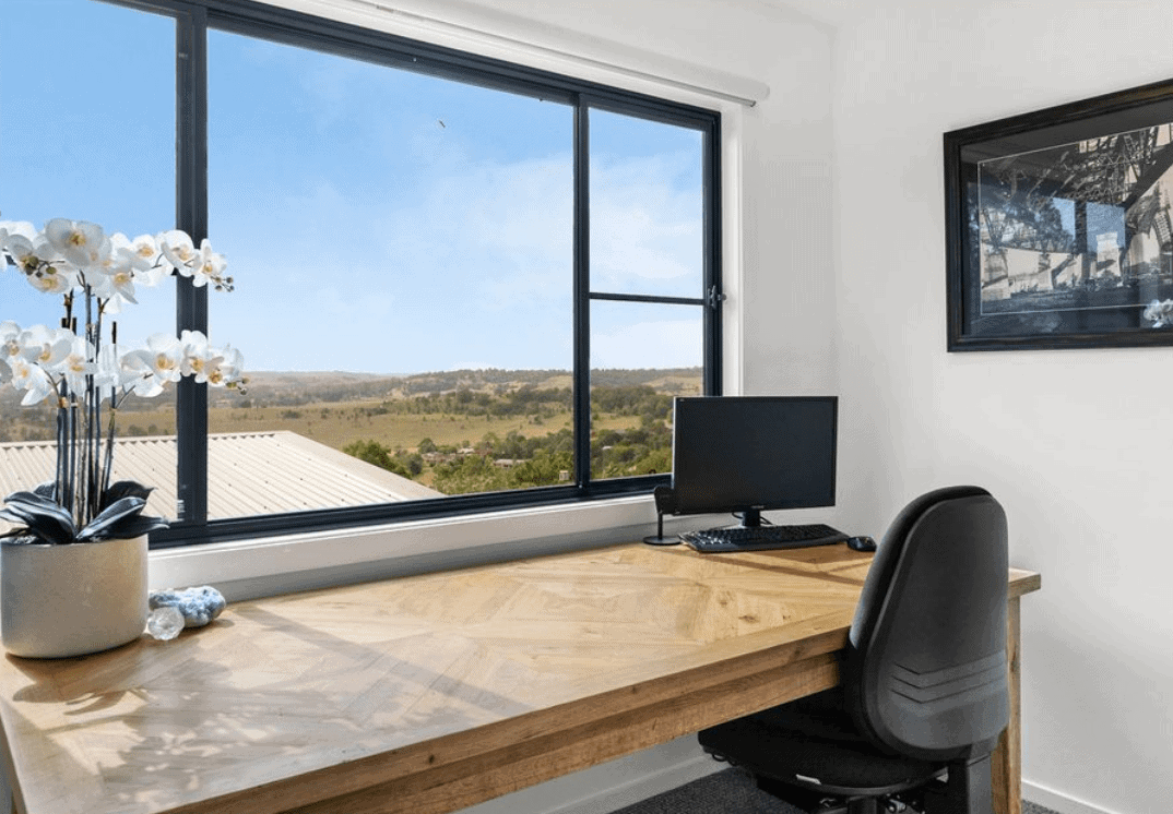 aluminium extrusions sliding windows in the office