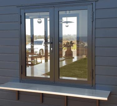 bi fold doors view from outside