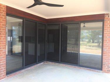 stacker sliding door and screen by versalite windows