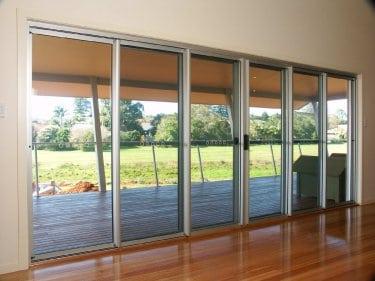 stacker door slide master screen aluminium frame