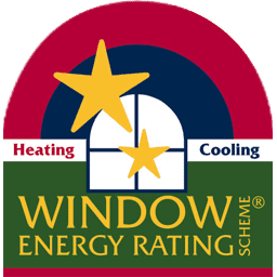 A logo of Window Energy Rating Scheme®