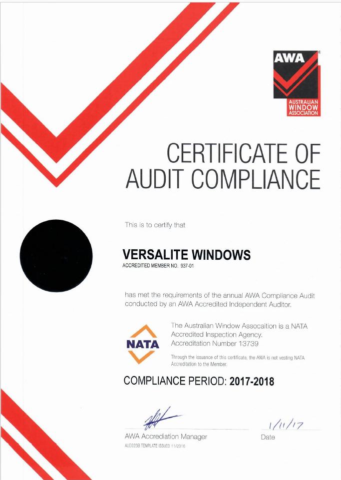 NATA Compliance