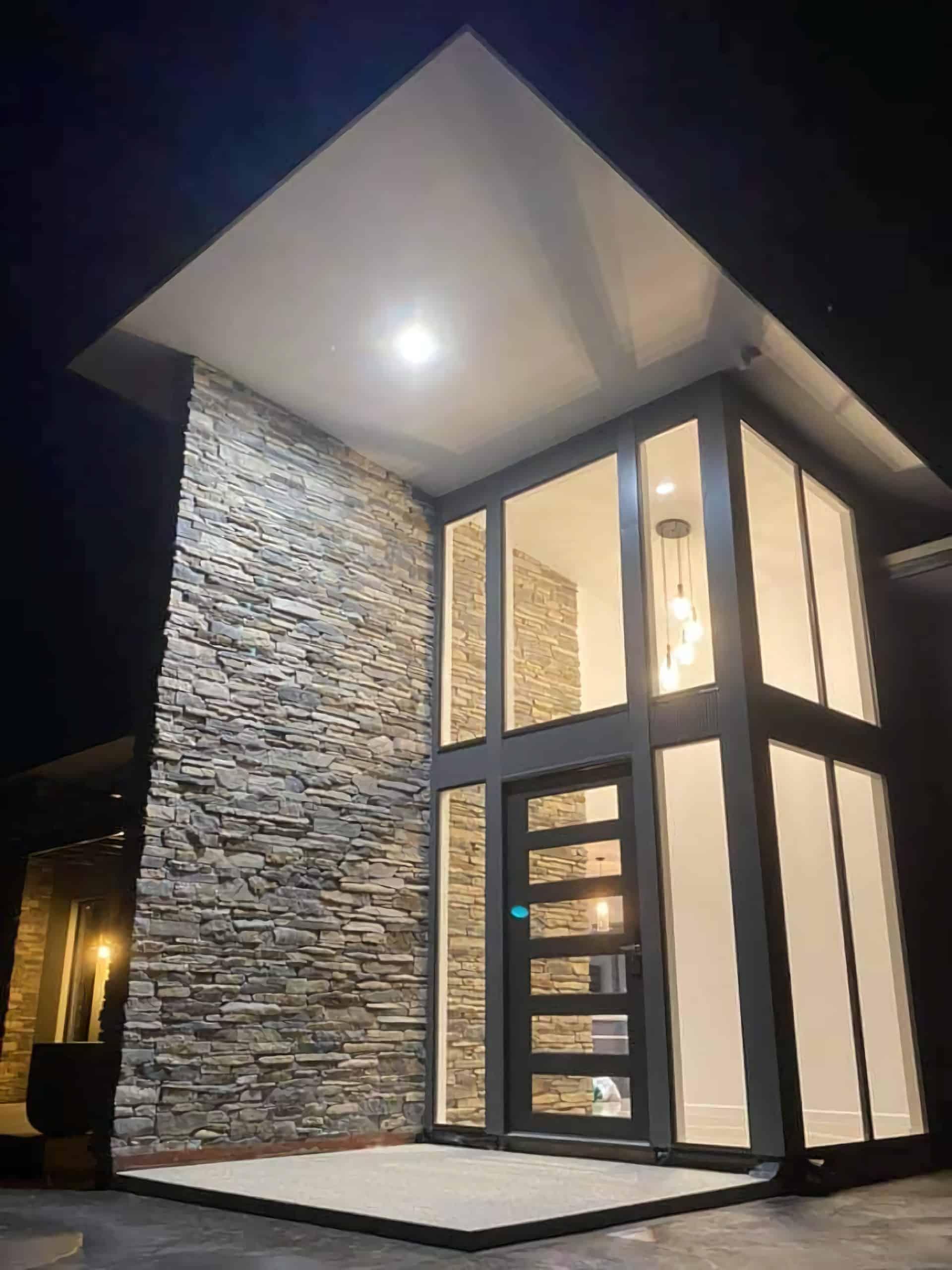 high quality maintenance entrance door unit
